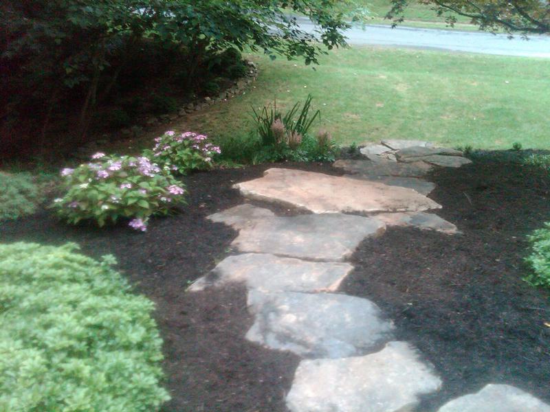 Landscape installation northern virginia fairfax burke for Landscaping rocks northern virginia